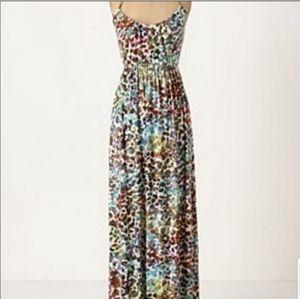 Anthropologie Deletta Colorful Maxi Dress